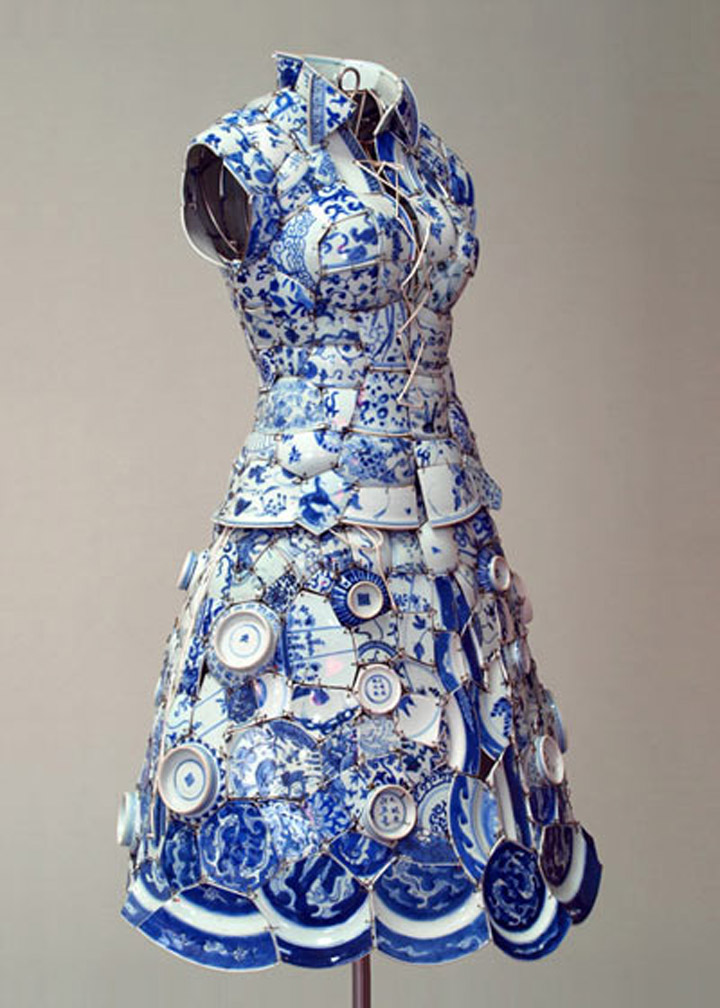 porcelin dress