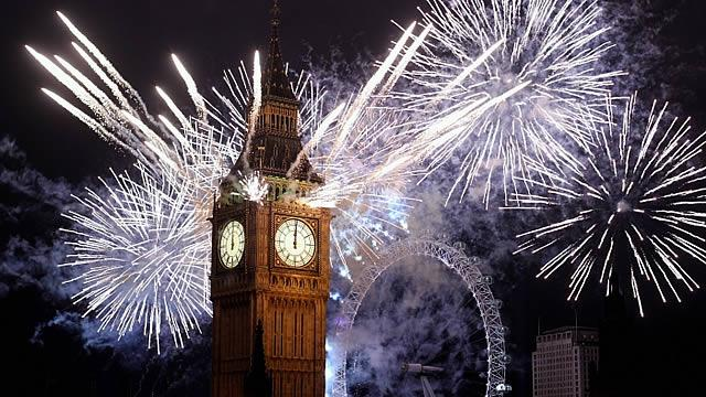 London fireworks 2016