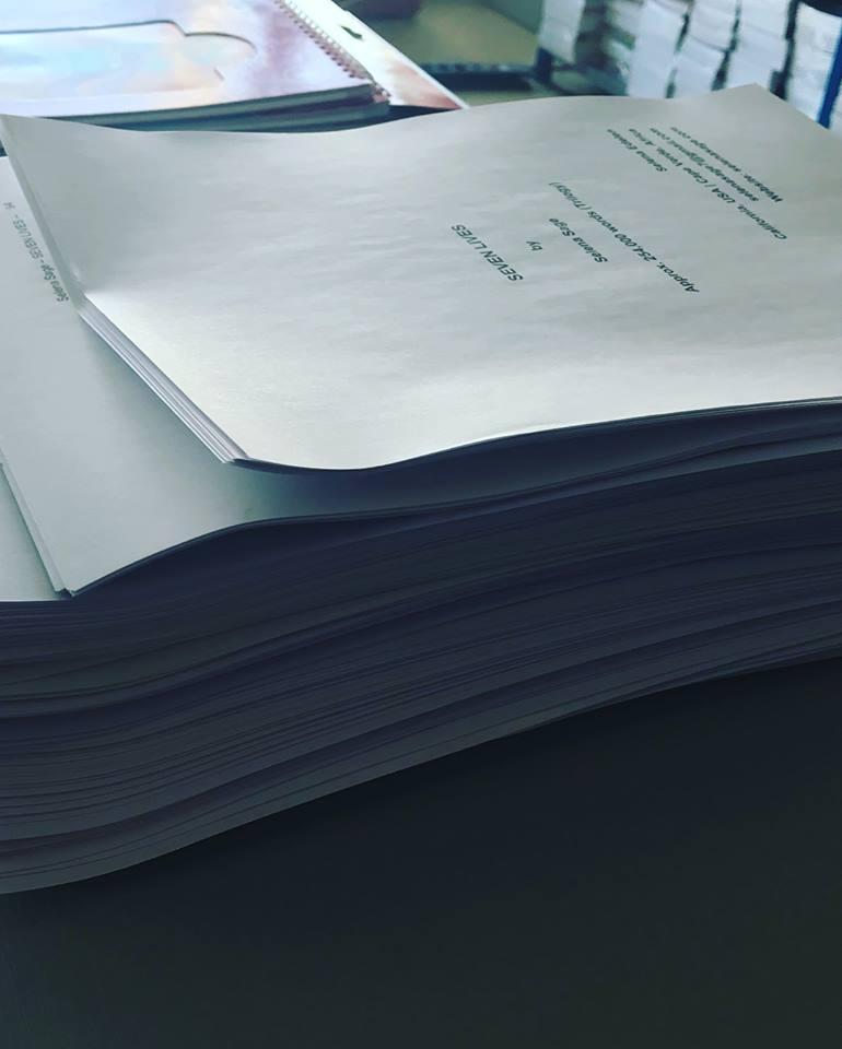 seven lives manuscript